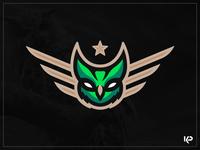 Owl Mascot Logo mascot logo sports logo design team logo mascot branding logo