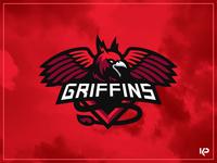 Griffins Mascot Logo mascot logo design illustration mascotlogo sports logo team logo mascot branding logo