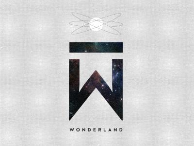 Wonderland typography design
