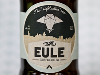 """Eule""-Beer bottle label"