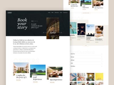 UI Concept - Hotel 1
