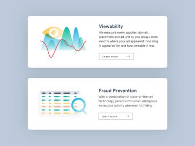 UI elements - Adloox website