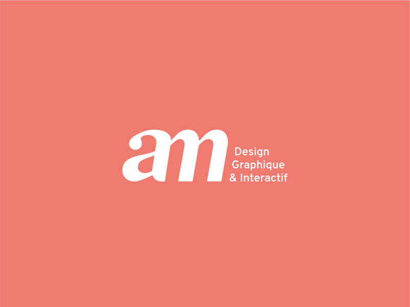 Personal logo logotype personal identity visual  identity monogram monogram logo personal brand personal branding logo maxin anais maxin