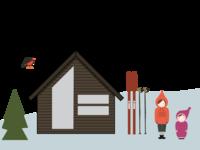 Illustrating - Norwegian mountain life