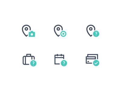 Unused action icons