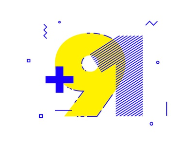 +91 india tshirt minimal bold swiss design swiss typography numeric