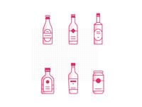 DAY015: Liquor Bottles