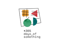 DAY026: #365daysofsomething Branding identity logo typography numbers abstract swiss 365daysofsomething branding