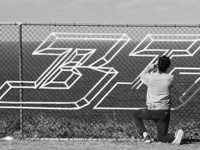 Tape graffiti #BLESS