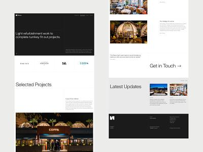 Nexus Website design branding brand repsonsive digital ux ui web design website