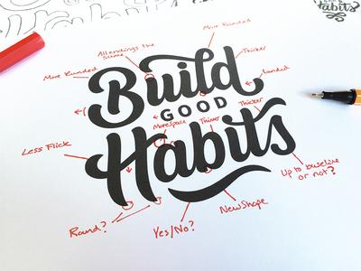 Build Good Habits Process Shot