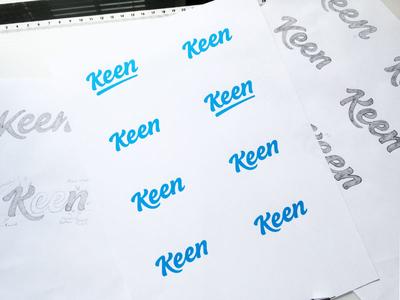 Keen Logotype Variations Shot