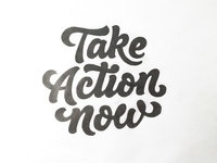 Take action now attachment