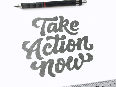 Take Action Now - Sketch