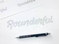 Rounderful - Final Sketch