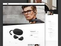 Bang and Olufsen Concept Product Page