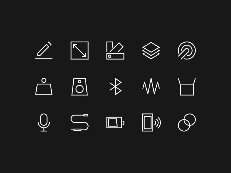 B o icons