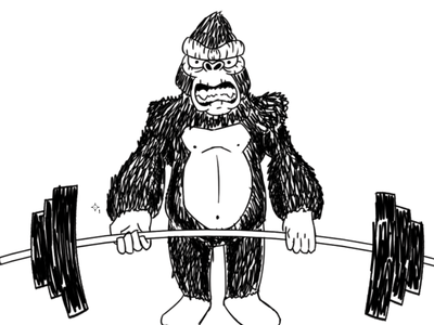 Deadlift Gorilla