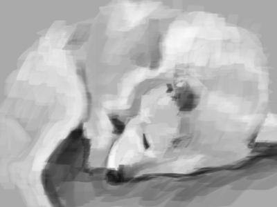 Good Dog photoshop drawing painting digital sketch
