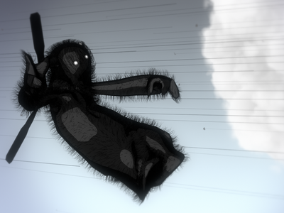 Blown Away 3d character animation sky propeller animation animated short particles storm wind