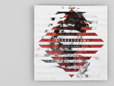 The Game album artwork album music graphic design cd design booklet geometry geometric