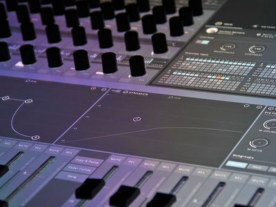 hybmix interface ui mixing consoler mixer audio engineering touch haptics user interface application mixing audio music