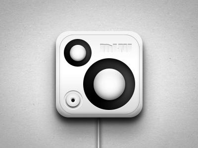 Music MINI music speaker audio icon ui