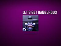 Darkwing Duck - Cartoon Badge Rebound