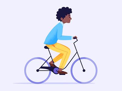 Biker texture bike character design vector illustration