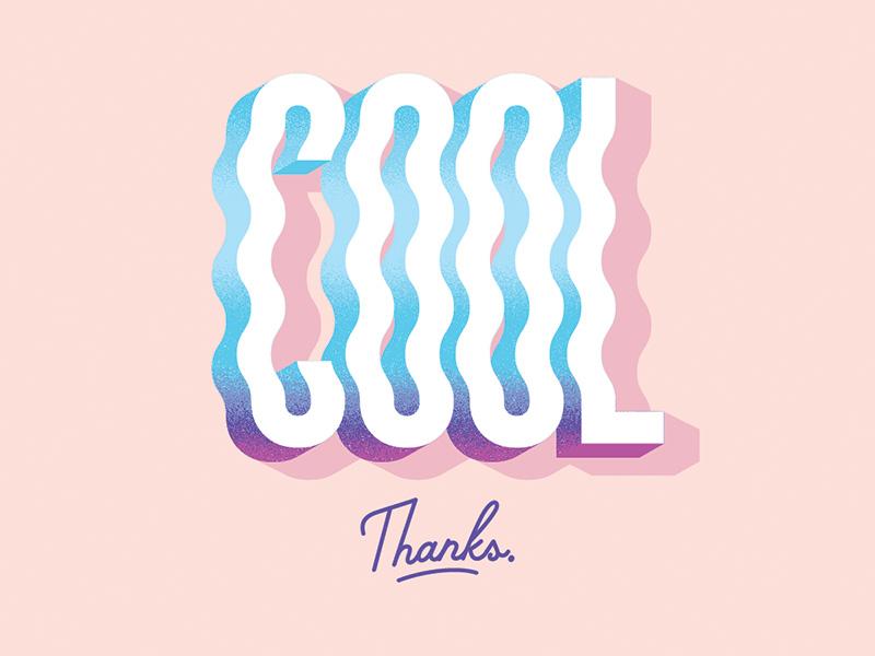 Cool thanks dribbble