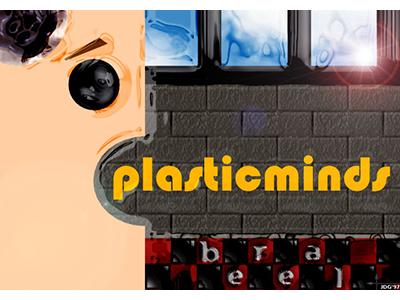 Plasticmind Logo, circa 1997 retro truespace photoshop plasticwrap smh