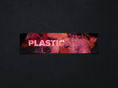 Plasticmind Logo Refresh refresh watercolor proximanova logotype logo plasticmind