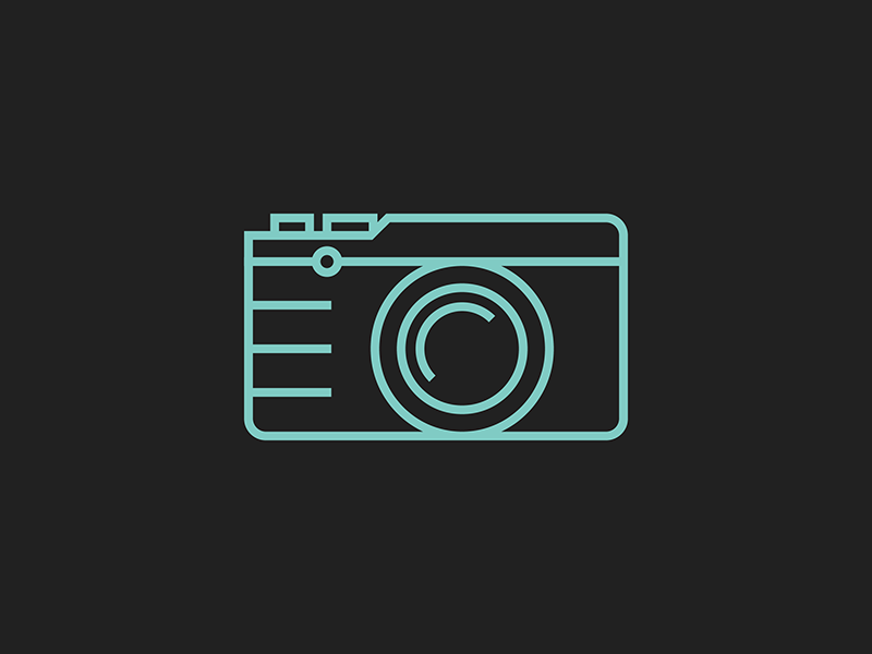 Fuji X-E2 camera icon camera icon lines fuji illustration