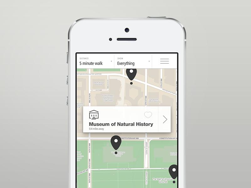 Transit app, wayfinding iphone transit kiosk wayfinding bluetooth icons prototype