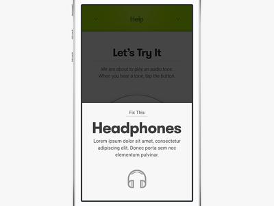 Audicus, Insert Headphones