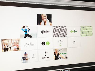 Branding artboard branding
