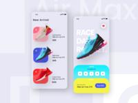 Nike Shoe App Exploration 👟