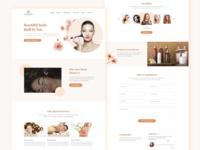 Beauty Spa Landing Page
