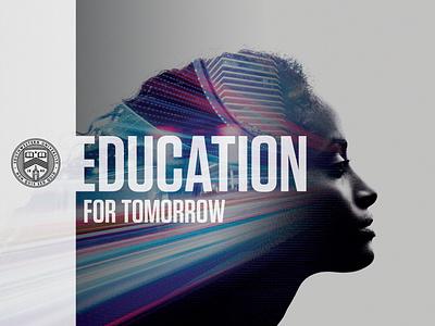 Education for Tomorrow education art direction design