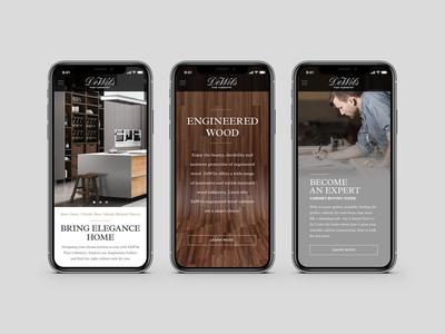DeWils Cabinetry Website Design