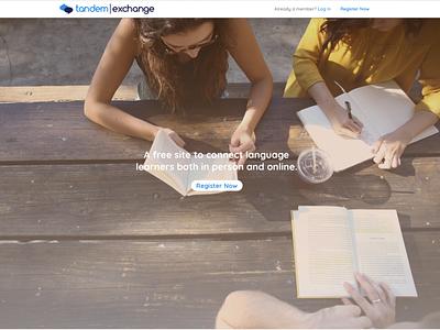 Tandem Exchange ui ux web