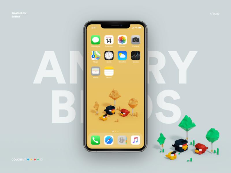 Angry Birds Voxel Wallpaper shape 3d voxelart voxel lego birds angry birds wallpaper design wallpaper