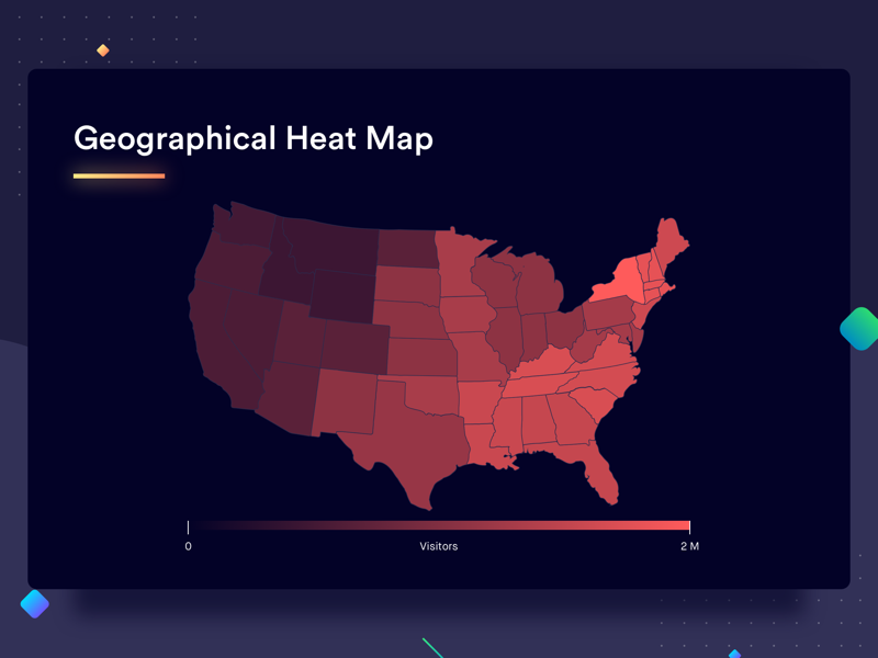 Geographical Heat Map by Shashank Sahay on Dribbble on military heat map, regulatory heat map, topographical heat map, distribution heat map, people heat map, human heat map, maps heat map, statistical heat map, medical heat map, education heat map, demographic heat map, financial heat map, temporal heat map, subject heat map, home heat map, environmental heat map, climate heat map, genetic heat map, urban heat map, create a heat map,