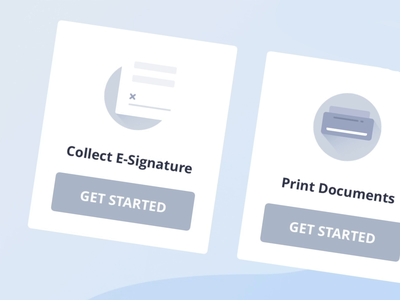 Signature Icon Animation card blue principle selection interactiondesign hover state hover highlight interaction ixd uiux ui looping gif animation illustration icon animation motion motiongraphics motion design