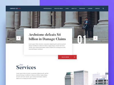 Homepage Carousel Animation serif typography classy ux ui animation 2d carousel interactiondesign interaction web design website home hero homepage design product homepage branding agency animation design