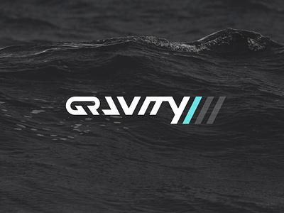 Gravity 23 Logo black vector sticker branding design geometric triangular sharp blackandwhite angular wordmark brand identity illustration design agency branding