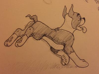More illustrations based on Preston Blairs book (close up) blair preston sketch illustration