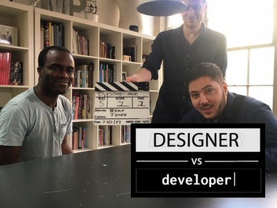 Designer Vs Developer: Adopting the native language of the web youtube show developer vs designer video