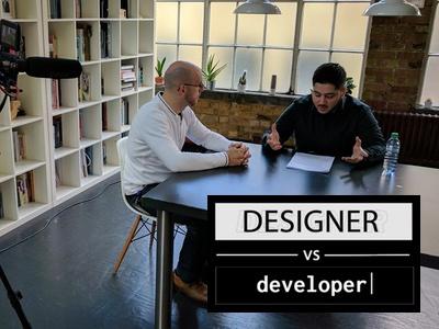 Designer Vs Developer: Are Designers Born or Made?  youtube show developer vs designer video