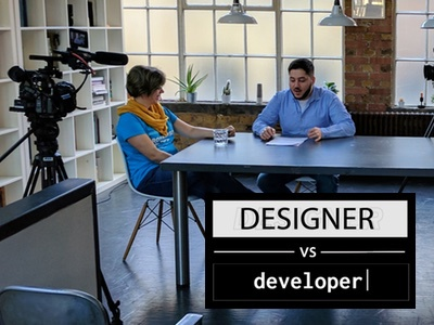 Designer Vs Developer: Balancing Creativity with User Testing youtube show developer vs designer video